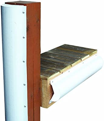 Dock Edge + INC. PVC Piling parachoques
