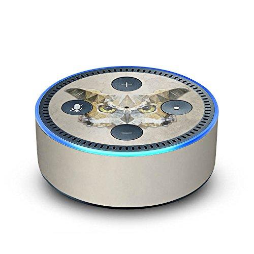 DeinDesign Amazon Echo Dot 2.Generation Folie Skin Sticker aus Vinyl-Folie Owl Eule Vogel