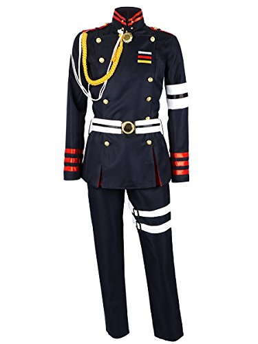 Cosplay Herren Kostüm - CoolChange Seraph of The End Cosplay Uniform von Guren Ichinose, Größe: S