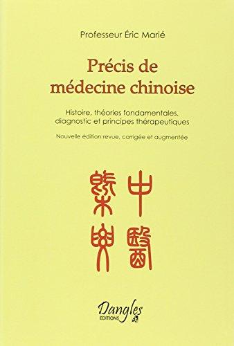 Précis de médecine chinoise par Eric Marié
