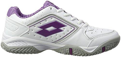 Lotto Sport T-Tour Ix 600 W, Chaussures de Tennis Femme Blanc (Wht/prp Spk)