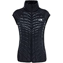 The North Face W Tansa Hybrid Thermoball Vest Chaleco, Mujer, Negro (Tnf Black), XS