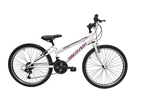 Discovery DP068 - Bicicleta Montaña Mountainbike B.T.T. 24'. Cambio fricción, 18 Velocidades. Para niña