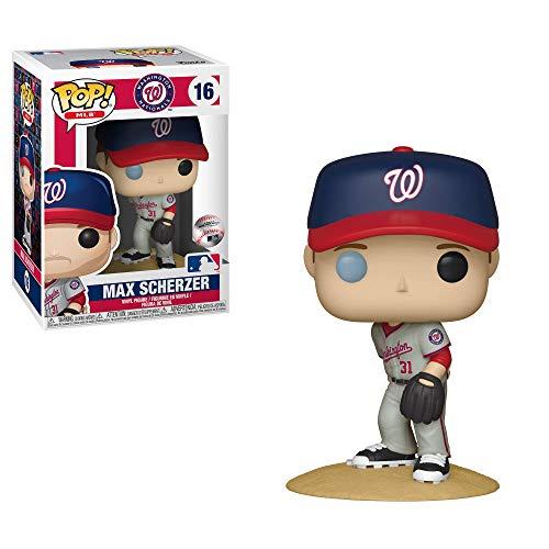 1d0c81dcc Funko- Pop Vinilo  MLB  MAX Scherzer (New Jersey) Figura Coleccionable
