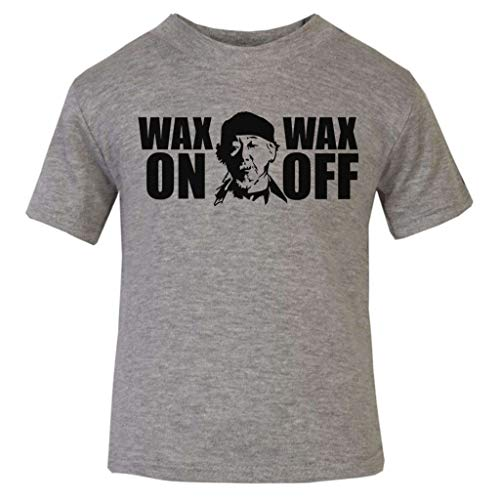 Wax On Wax Odd Karate Kid Miyagi Baby and Toddler Short Sleeve T-Shirt