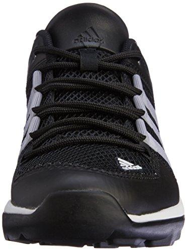 adidas Unisex-Erwachsene Daroga Plus Turnschuhe Schwarz (Core Black/Chalk White/Silver Metallic)