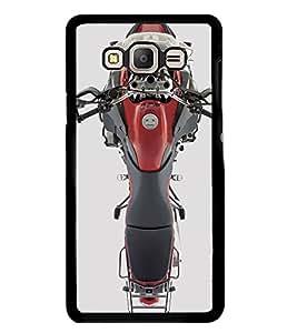 PrintVisa Designer Back Case Cover for Samsung Galaxy E5 (2015) :: Samsung Galaxy E5 Duos :: Samsung Galaxy E5 E500F E500H E500Hq E500M E500F/Ds E500H/Ds E500M/Ds (Sports Bike Motorcycle Automobile )