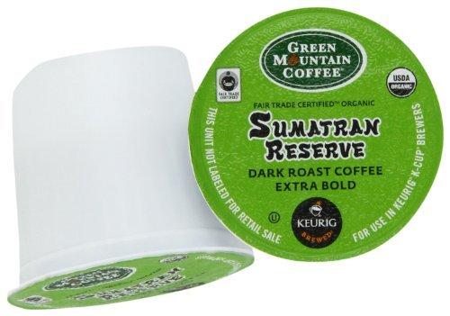 Green Mountain Coffee K-Cup parte per Keurig K-Cup brewers, Sumatra Reserve (da 96), giardino, prato, manutenzione