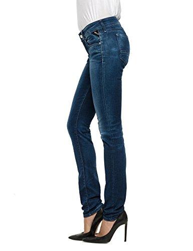 Replay - Rose, Pantaloni Donna Blu (Blue Denim 7)