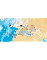 Navionics MicroSD - Carta náutica, zona 43XG Mar Mediterraneo y Mar Negro