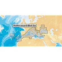 Navionics MicroSD - Carta nautica, zona 43XG Mar Mediterraneo e Mar Nero - Carta Nautica