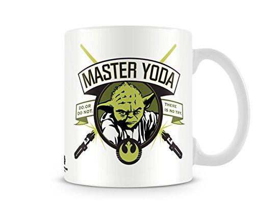 Offizielles Lizenzprodukt Star Wars - Master Yoda Kaffeetasse, Kaffeebecher