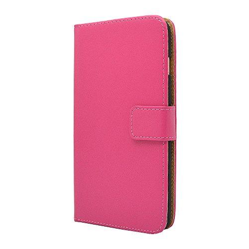 Finest Bazaar Laudtec Schutzhülle aus Leder - für iPhone 6 / 6S - Pink