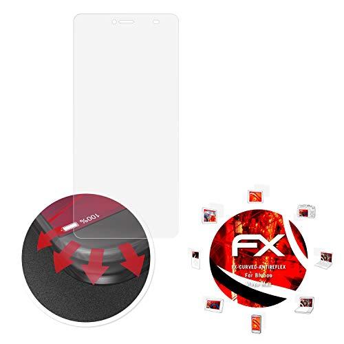 atFolix Schutzfolie passend für Bluboo Maya Max Folie, entspiegelnde & Flexible FX Bildschirmschutzfolie (3X)