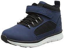 Primigi Pib 44583, Sneaker a Collo Alto Bambino, Navy/Blu Scuro 4458300, 31 EU