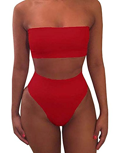 cctiwee-womens-2-piece-solid-bandeau-swimsuit-top-bottom-set-luk10-12-red