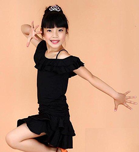 ädchenkleidung und Tanzkostüme Theatrical Costume, 130cm, black (Theatricals Tanz Kostüme)