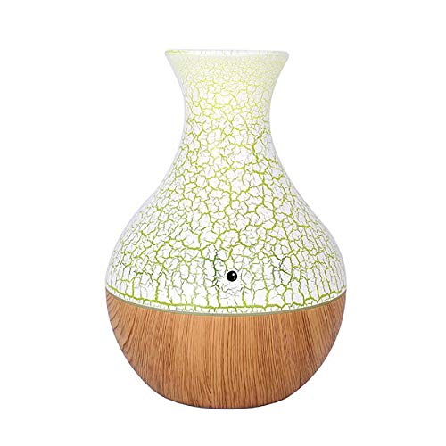 Wooya 7 Farben Mini Holz Korn Auto Schlafzimmer Luftbefeuchter Große Kapazität Aromatherapie Maschine