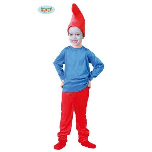 Costumi schtroumpf 7-9 anni