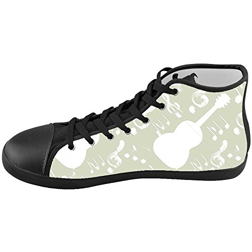 Dalliy Music Note And Guitar Kids Canvas shoes Schuhe Footwear Sneakers shoes Schuhe B