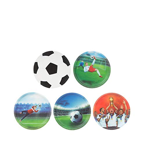 Ergobag Klettie Set Fußball Special Edition, 5-teilig, passend für Pack/Cubo/Cubo Light/Ease/Mini