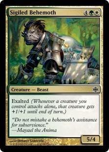Magic: the Gathering - Sigiled Behemoth - Alara Reborn - Foil by Magic: the Gathering