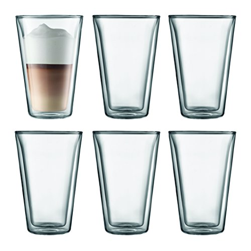 Bodum Canteen - tazzes & mugs (Set, Transparent, Glass)