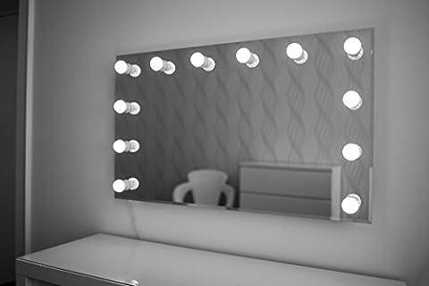Hollywood Spiegel Theaterspiegel Spiegel mit glühbirnen