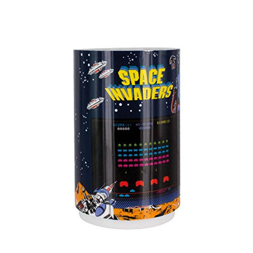 Paladone Spave Invaders Projection Light. Projects Space Invaders enemy aliens onto nearby walls and surfaces