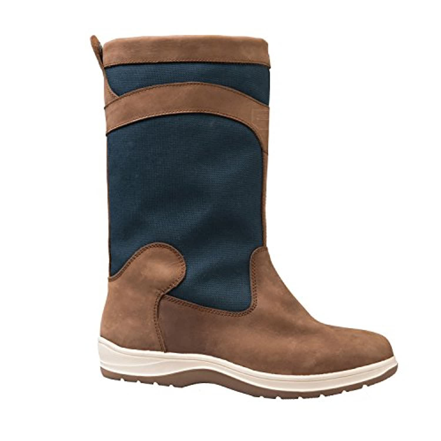 2017 Gul Fastnet Deck Boots in Tan / Navy DS1005