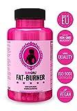 Slim Girlz Fat Burner | Pilule minceur | Perte de graisse et de poids | Coupe faim | Brûleur de graisse pour la perte de poids pour femmes | 10 ingrédients actifs | Sans stimulants | Pilules de régime efficaces sûrs et naturels | Végan | Fabriqué dans l�UE | 60 capsules véganes