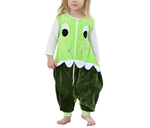 Schlafsack Kostüm Bär (Kidslove Baby Schlafanzug Kinder Jumpsuits Overall Bauwolle Spielanzug nachtwäsche Unisex Schlafanzug Schlafsack Jungen)
