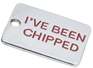 K9 I've Been Chipped Identity Tag, Gift Boxed