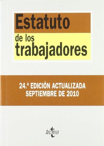 Estatuto de los trabajadores / Statutes of workers por AA.VV.