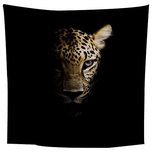 BFHCVDF Patrón Cabeza Leopardo tapicería Moda Colgar