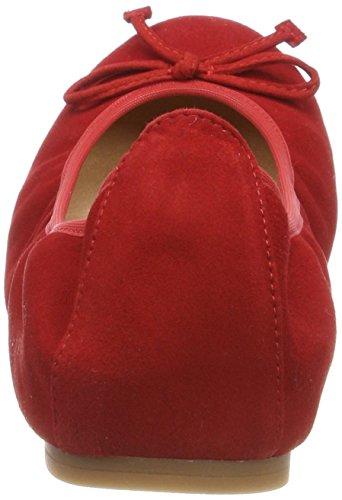 Unisa Damen ACOR_18_KS Geschlossene Ballerinas Rot (Red)