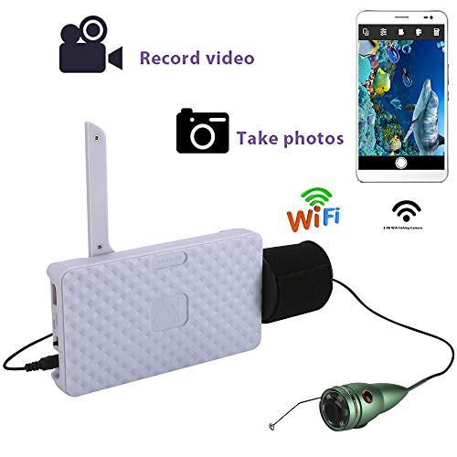 20P Unterwasser-Fishing-Kamera-Video-Aufnahme fotografieren und Video-Aufzeichnung mit 1000TVL-Kamera unterstützt IOS Android Remotely APP,15mcable ()