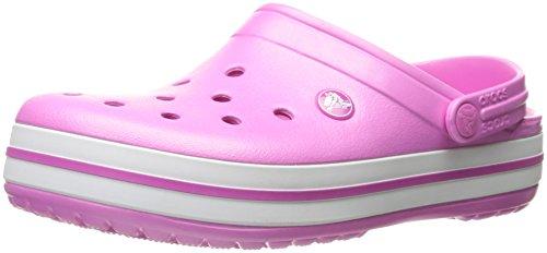Crocs Crocband, Zoccoli Unisex-Adulto Rosa (Party Pink)