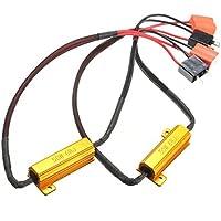 RAXFLY H7 Lampadina Fari LED Decoder Resistore Resistenza di Carico per Faretto H7 da Auto