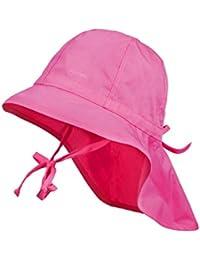 maximo Mädchen Mütze Hut mit Nackenschutz, Tunnelzug, UPF 30+