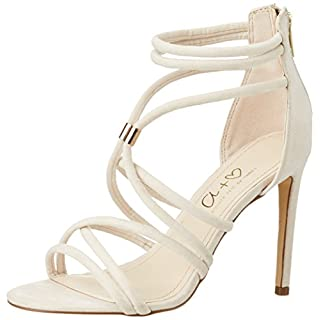Another Pair of Shoes Damen SveaE1 Offene Sandalen mit Keilabsatz, Beige (Sand782), 38 EU