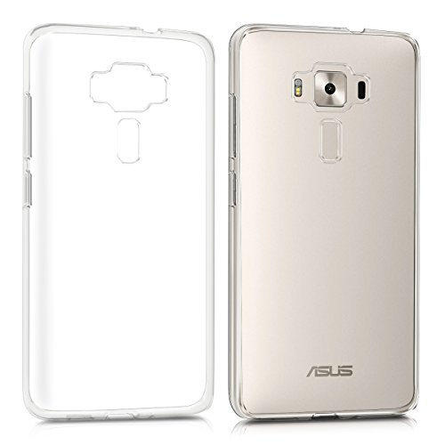 kwmobile ASUS Zenfone 3 Deluxe (ZS570KL) Hülle - Handyhülle für ASUS Zenfone 3 Deluxe (ZS570KL) - Handy Case in Transparent (Deluxe Soft Case)