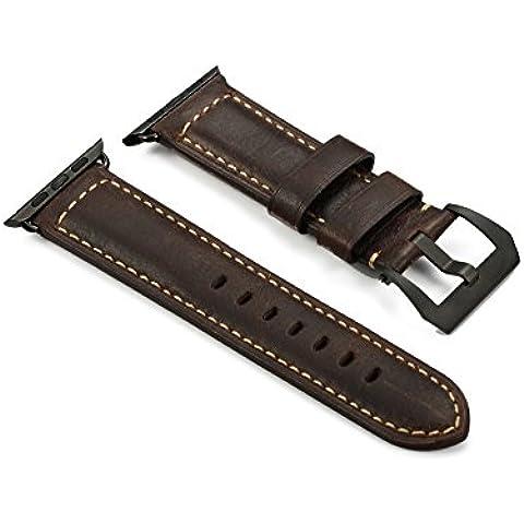 iStrap Vera Pelle Cinturino di Apple iWatch 42mm Bracciale Draccialetto