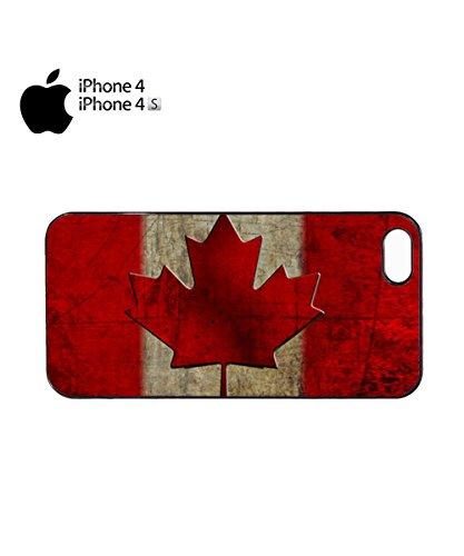 Canada Flag Vintage Retro Canadian Mobile Phone Case Cover iPhone 6 Plus + Black Noir