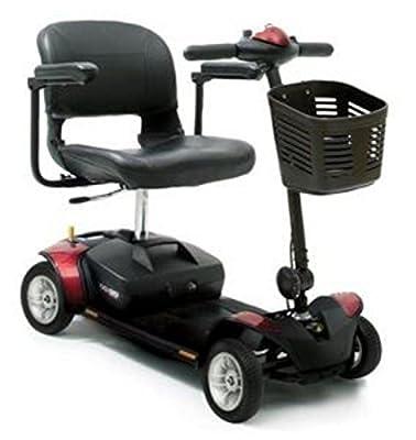 Go Go Elite Traveller 4 Wheeled Portable Travel Mobility Scooter