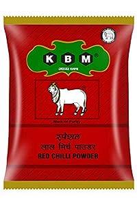 KBM Gai Chaap Red Chilli (Lal Mirch) Powder, 200 g
