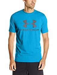 Under Armour Cc Sportstyle Logo Camiseta de Manga Corta, Hombre, Azul (Water Medium Heather), S