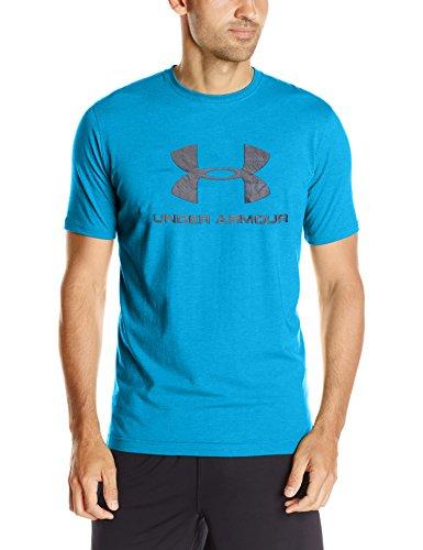 Under Armour Herren CC Sportstyle Logo Kurzarmshirt, Blau (Cruise Blue Medium H), S
