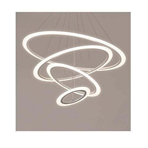 YYH Rundes Licht der LED-kreativen Persönlichkeit einfaches rundes Ringnetz