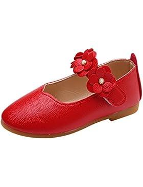 Highdas Zapatos de Niña Mary Janes - Niños Pequeños Zapatos de Escuela de Fiesta de Princesa Zapatos de Baile...